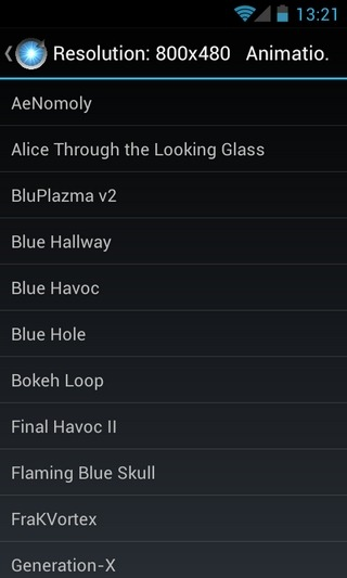 AniBoot-Android-List