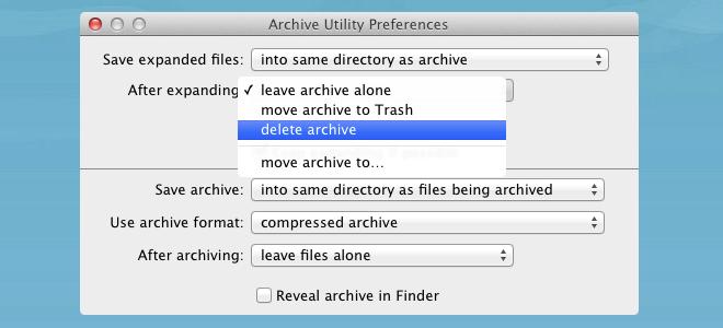 Archive Mac