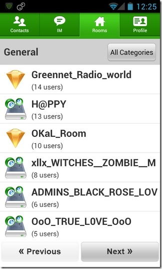 Camfrog-Android-Rooms