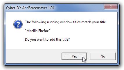 Cyber-D's AntiScreensaver 1.04