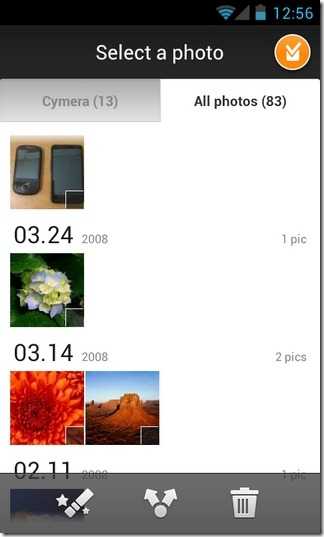 Cymera-Android-Gallery