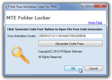 Get Your Activation Code For FREE!