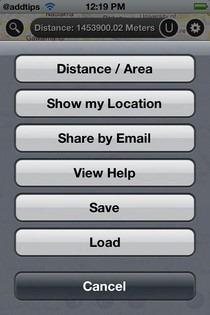 Map Measure Options