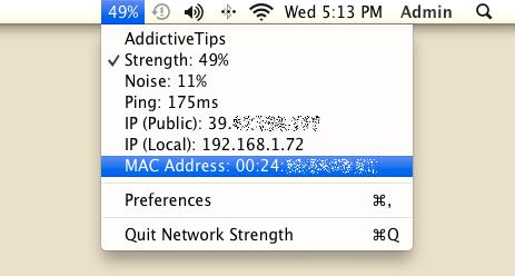 Network Strength main