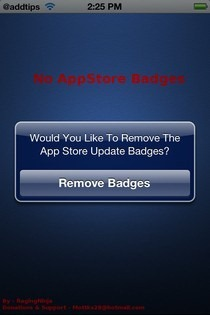 No AppStore Badges