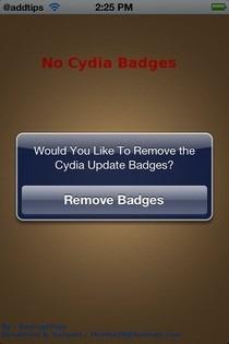 No Cydia Badges iOS