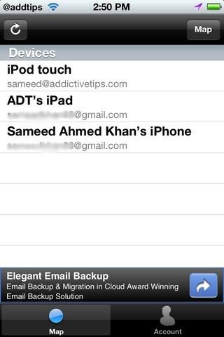 Phone Finder Cydia