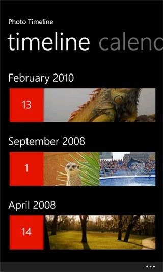 Photo Timeline
