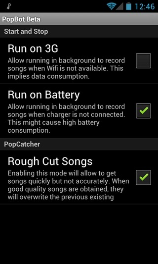 PopBot-Android-Settings