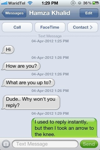 SMS Timestamps