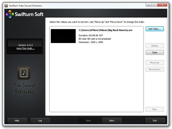 Swifturn Free Sound Extractor