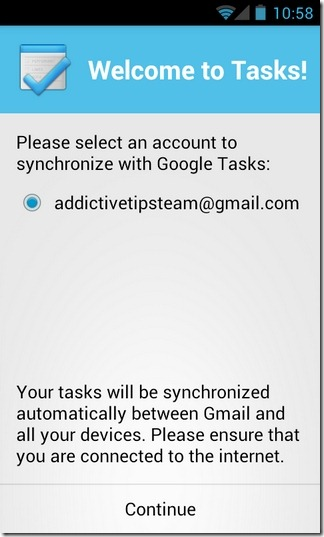 Tasks-Android-Accounts