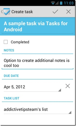 Tasks-Android-New-Task