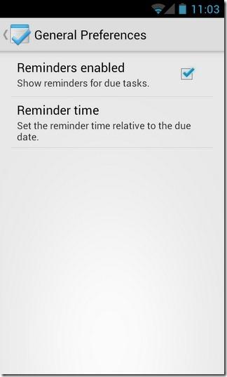 Tasks-Android-Settings