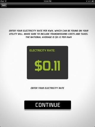 Verde Electricity Rate