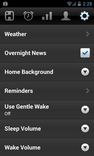 iHome-Sleep-Android-Settings