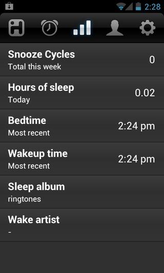 iHome-Sleep-Android-Stats