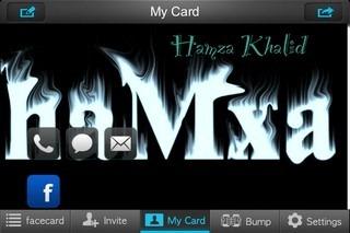 my facecard iOS