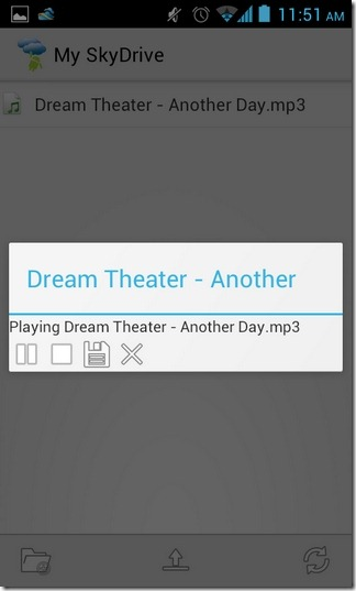 Android-SkyDrive-Explorer-Music