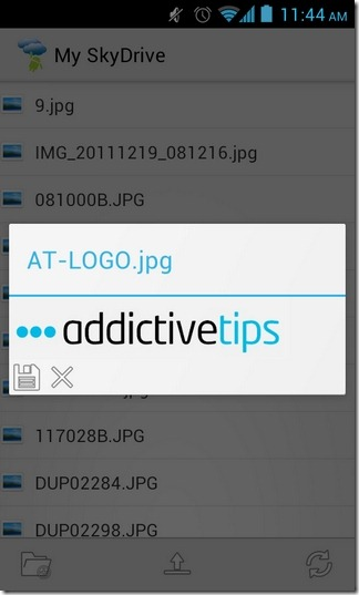 Android-SkyDrive-Explorer-Photos