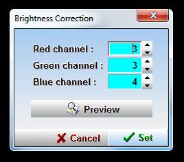 Brightness Correction