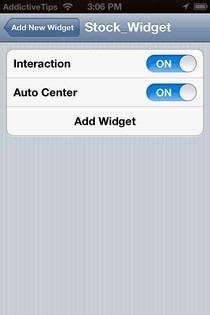 Dashboard X Add Options