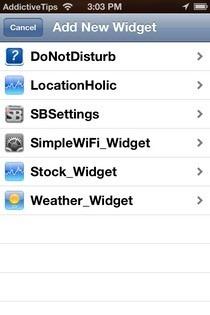 Dashboard X Widgets