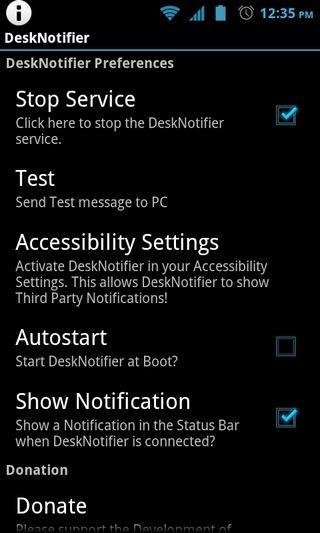 DeskNotifier-Android-Home