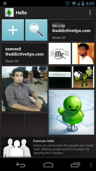 Evernote-Hello-Android-Home