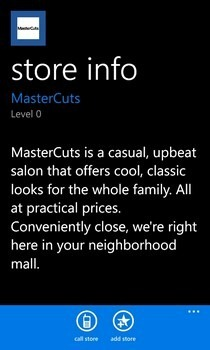 FastMall Store Info