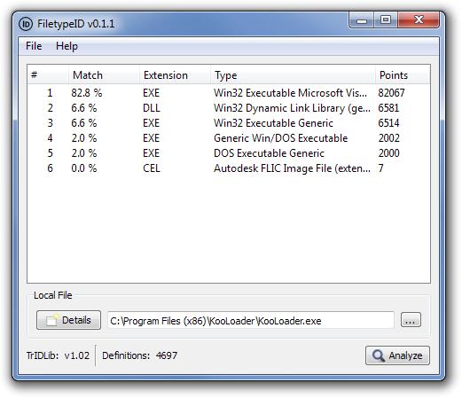 FiletypeID v0.1.1