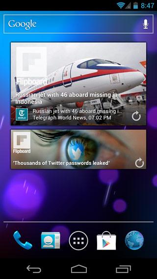 Flipboard-For-Android-Widget