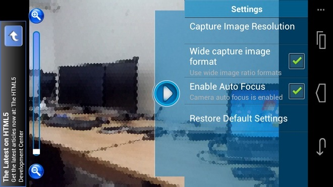 FunCam-Android-Settings