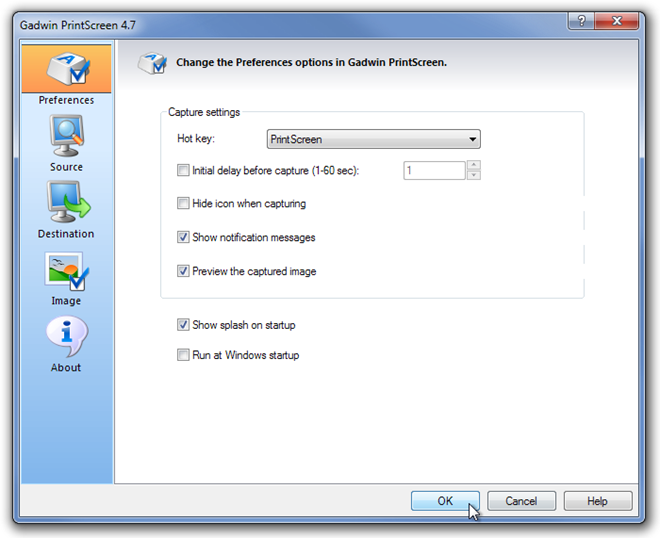 Gadwin PrintScreen 4.7