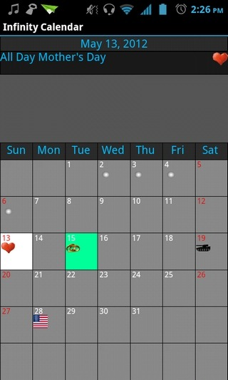 Infinity-Calendar-Android-Home