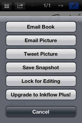 Inkflow Options