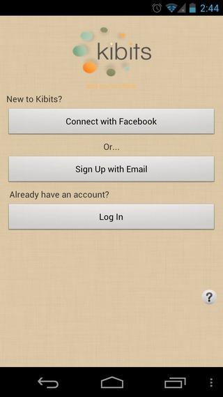 Kibits-Android-Login
