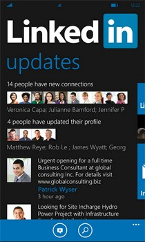 Official LinkedIn Client For WP7 Arrives In The Marketplace, Speaks Metro All Over
