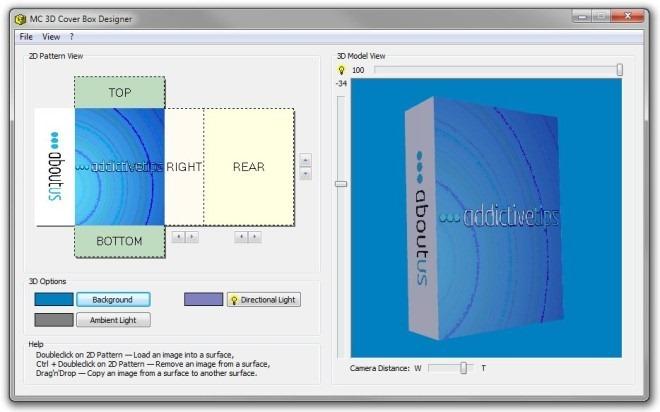 MC 3D Cover Box Designer