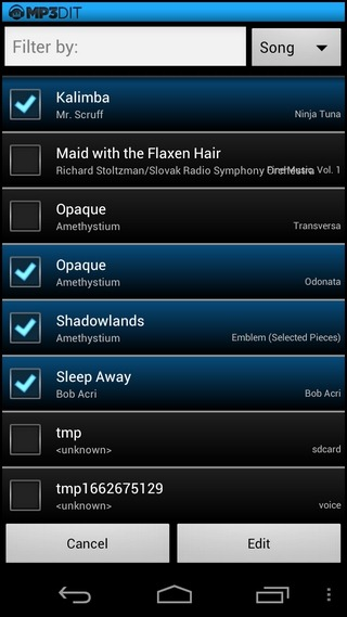 MP3dit-Android-Batch-Select