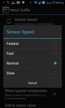 Metal Sniffer Sensore Speed