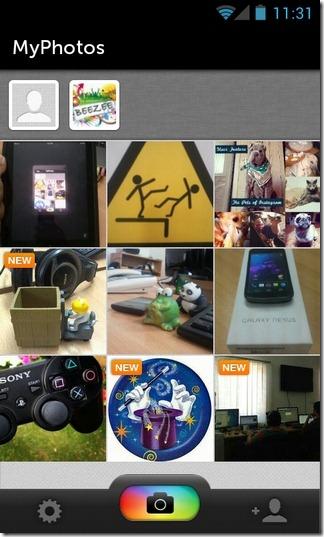 PhotoCircle-Android-Circle