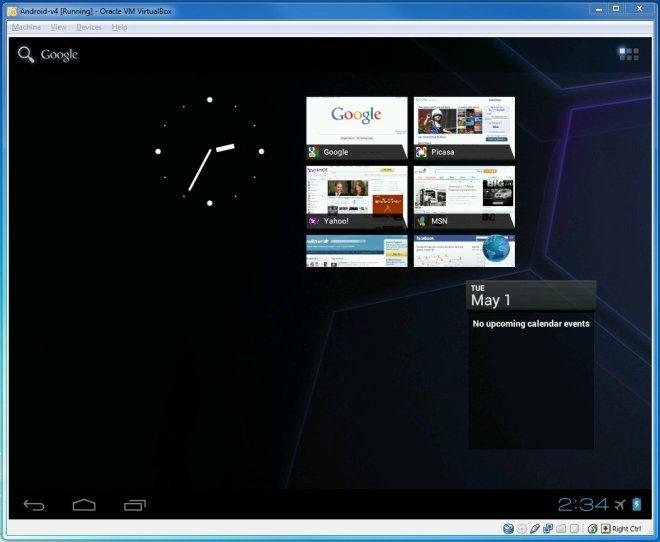 Run Android ICS On Windows, Mac, Linux