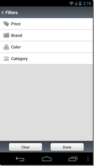 Shoptimus-International-Android-Filters