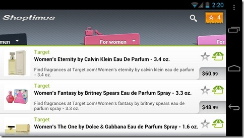 Shoptimus-International-Android-Tabs