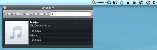 Simplayfy  search