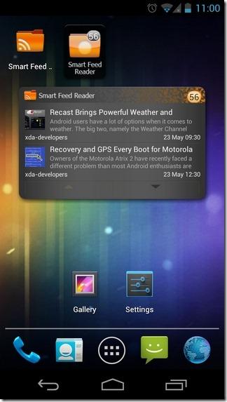 Smart-Feed-Reader-Widgets