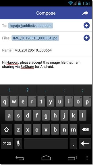SoShare-Android-New-Share