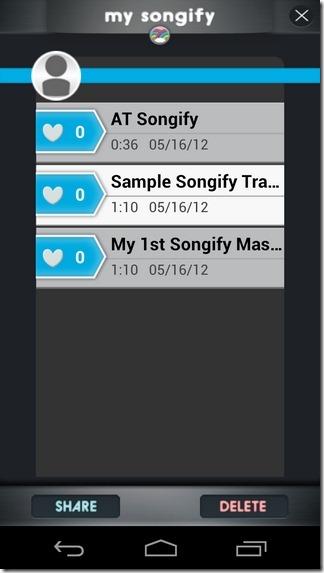 Songify-Android-My-Songify