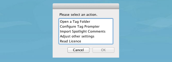 Tag Folders edit